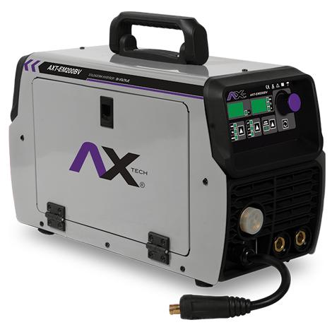 Soldadora inversor 200 amp 110/220v MIG TIG (AXT-EM200BV)