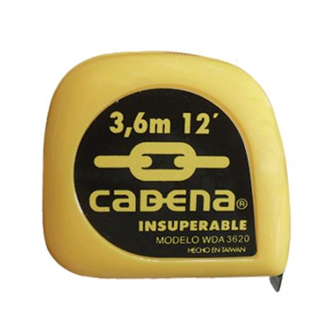 """FLEXOMETRO 3.6 MTS X 3/4"""" MCA. CADENA"""