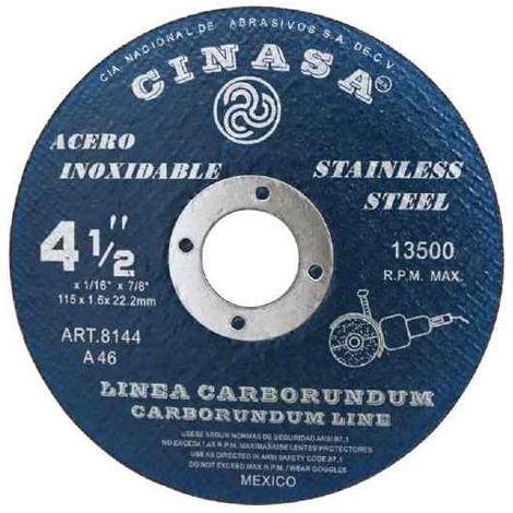 Disco de corte T-1 115x1x22.2
