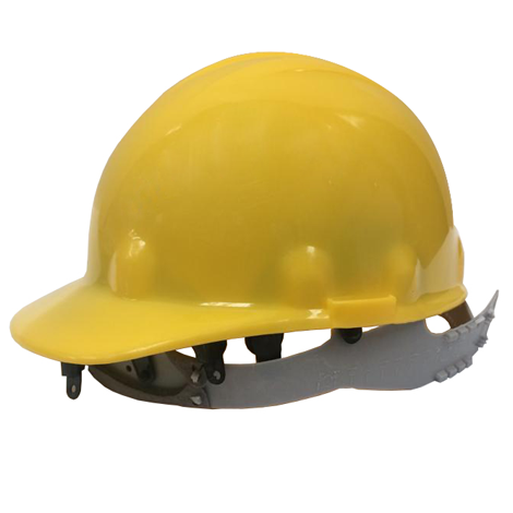Casco amarillo