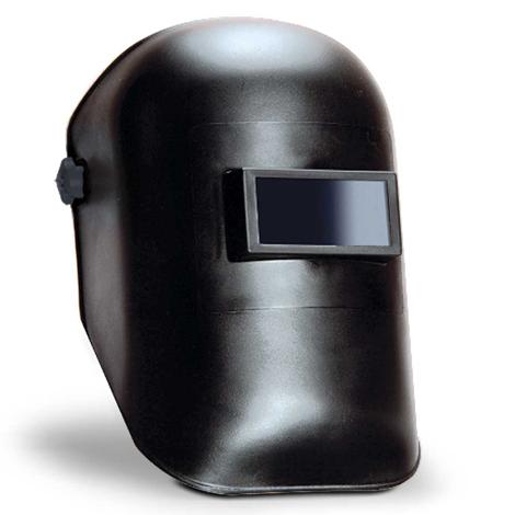 Careta termoplástica concha curva ventana fija ajustable